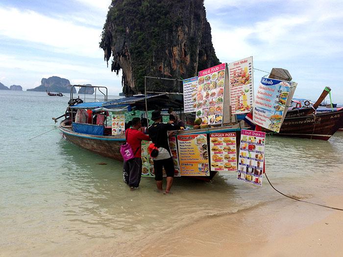 Bateau fast-food, Thaïlande