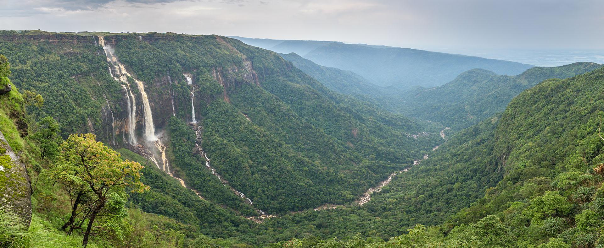 Cherrapunjee, Meghalaya, Inde