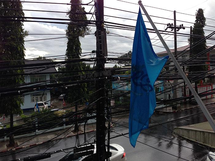 Poteaux électriques, Thaïlande