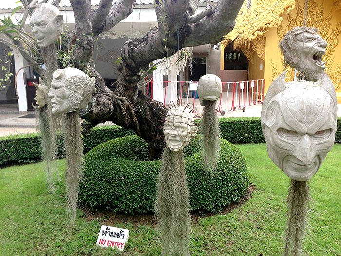 D'autres sculptures étranges...