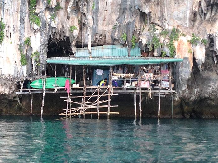Gitans de la mer, Thaïlande