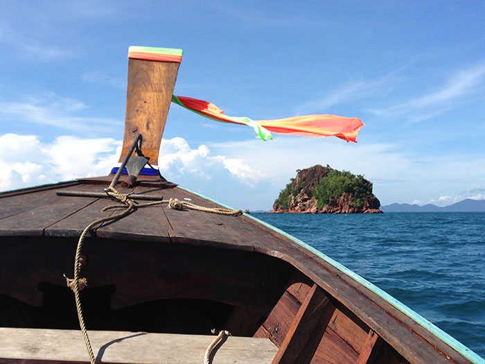 Bateau longue-queue, Thaïlande