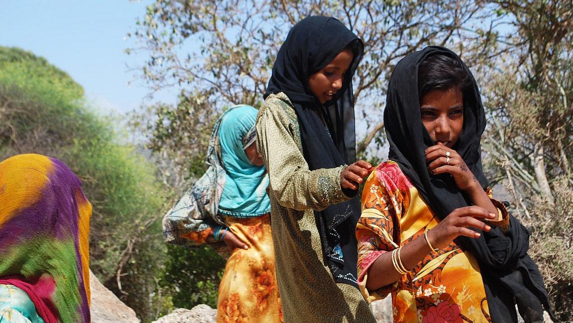 Jeunes femmes de Socotra