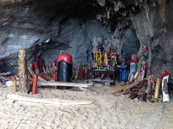 Grotte de Phra Nang, Thaïlande