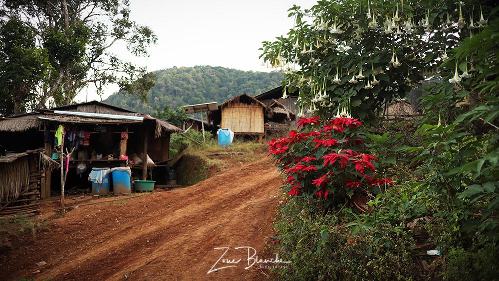 Village Karen en Thaïlande