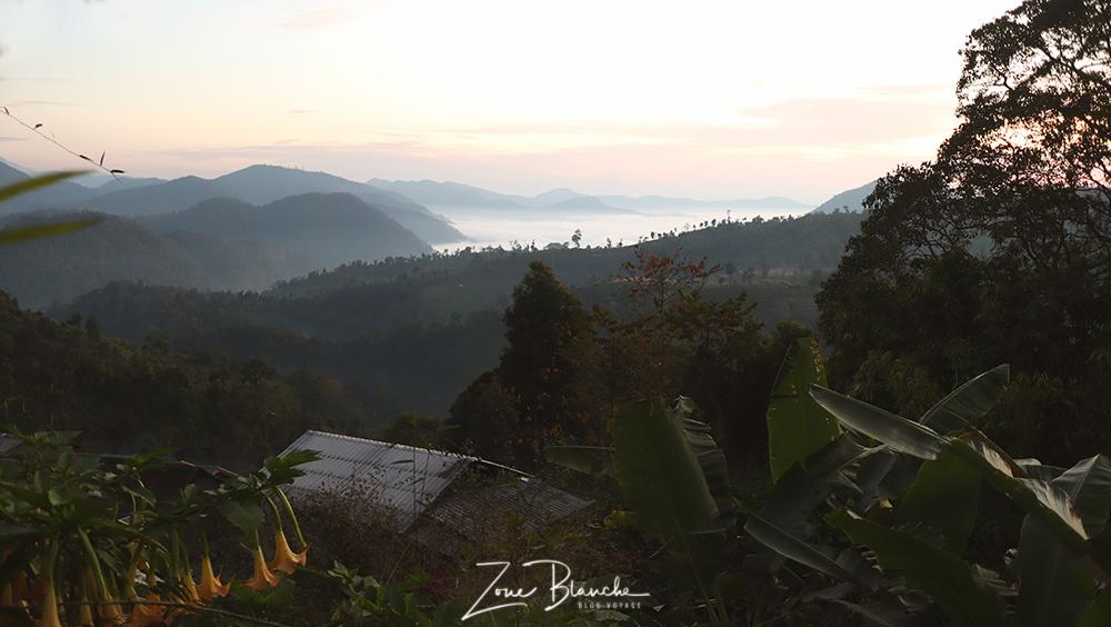 Lever de soleil en Thaïlande