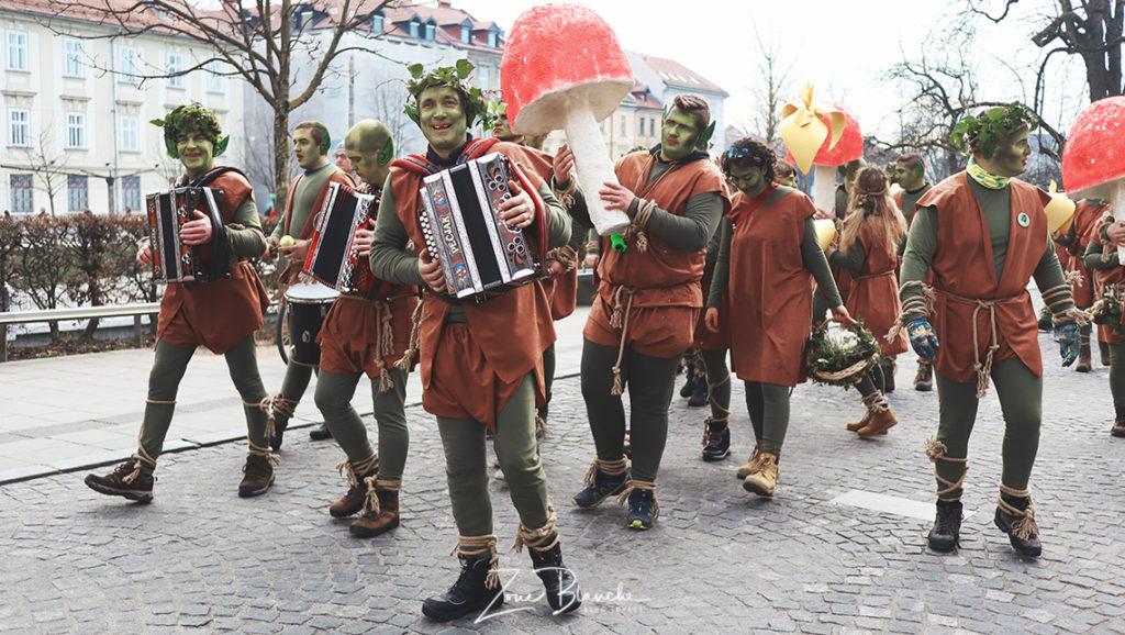 Trolls, carnaval de Ljubljana