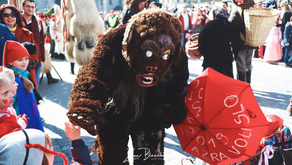 Homme sauvage de Cerlno, carnaval de Slovénie