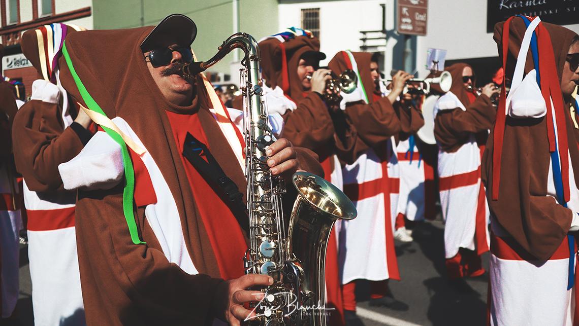 Musicien au carnaval de Ptuj