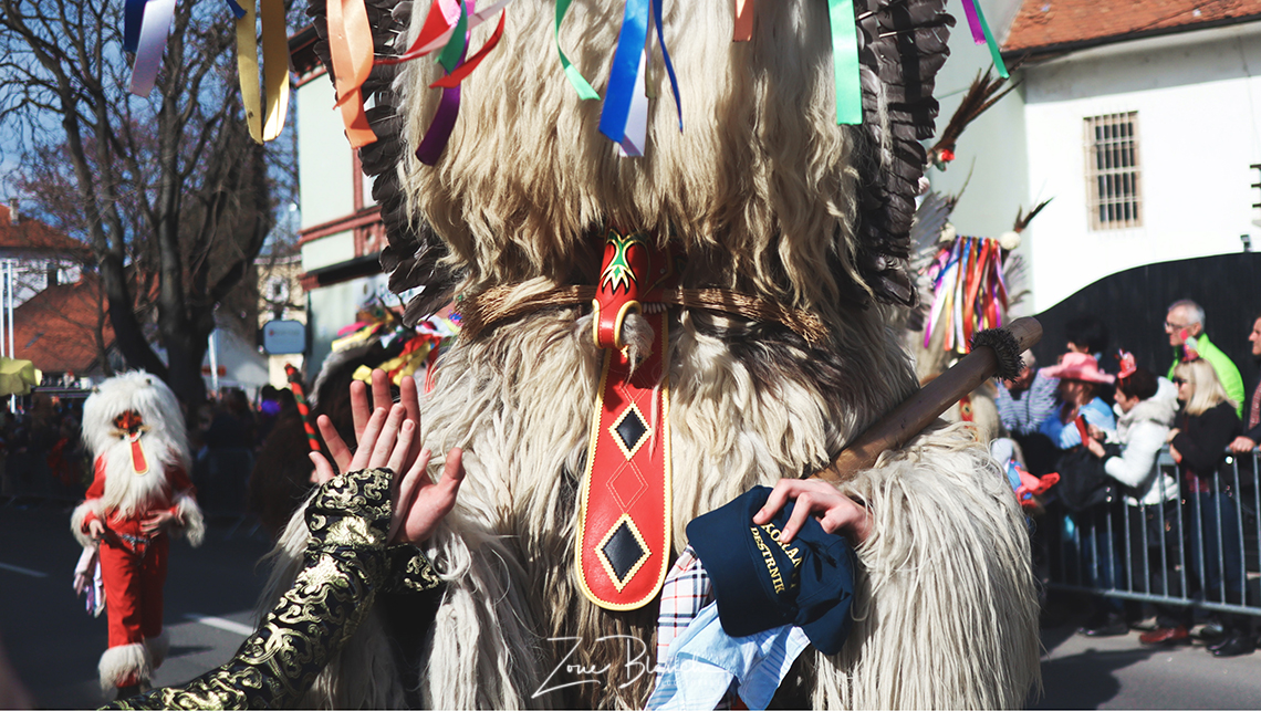 Un Kurent du carnaval de Ptuj