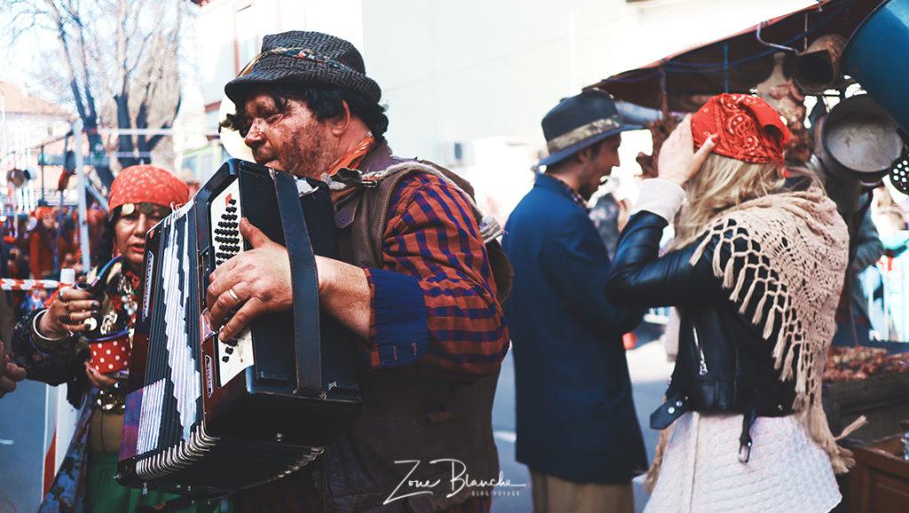 Gitan accordéoniste de Dornava