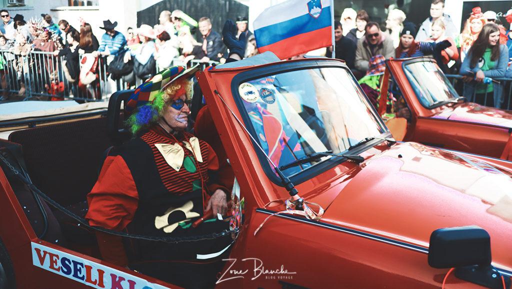 Des clowns à Ptuj