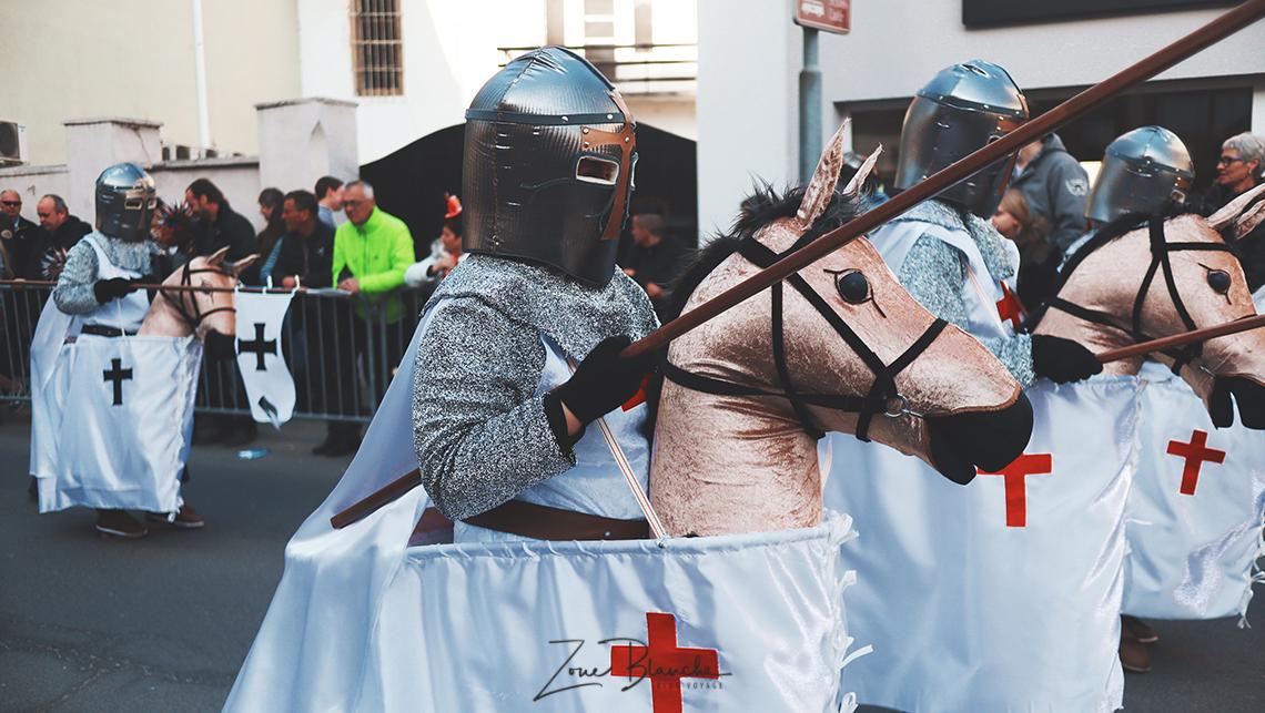 Templiers au carnaval de Ptuj
