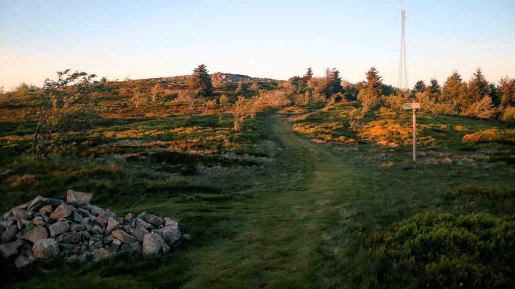 Mont Pilat au printemps