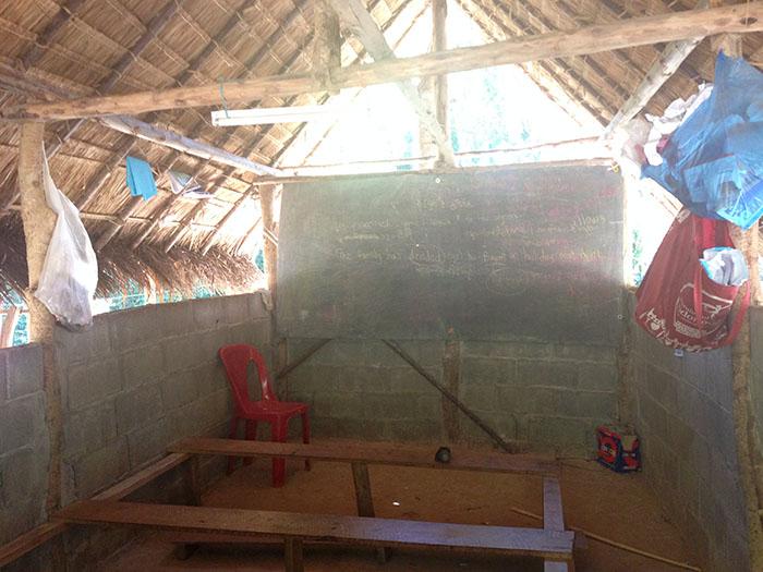 L'école de la tribu Karen