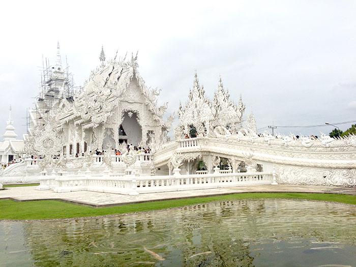 Le termple blanc de Chiang Rai