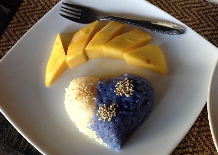 Ma réalisation de mango sticky rice