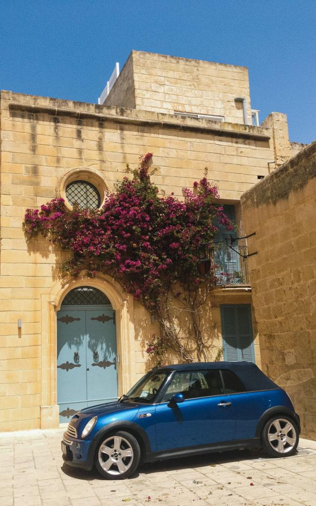 Mdina Malte voiture