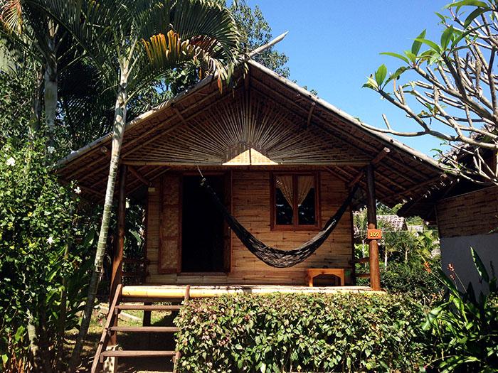 Mon bungalow pour deux jours
