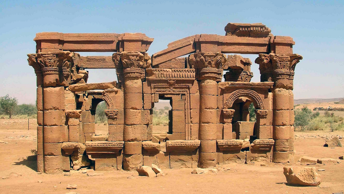 Kiosque romain à Naqa, Soudan
