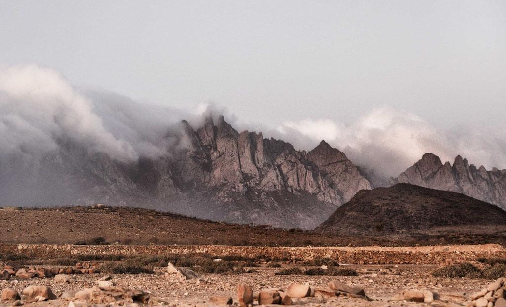 Paysage montagneux de Socotra