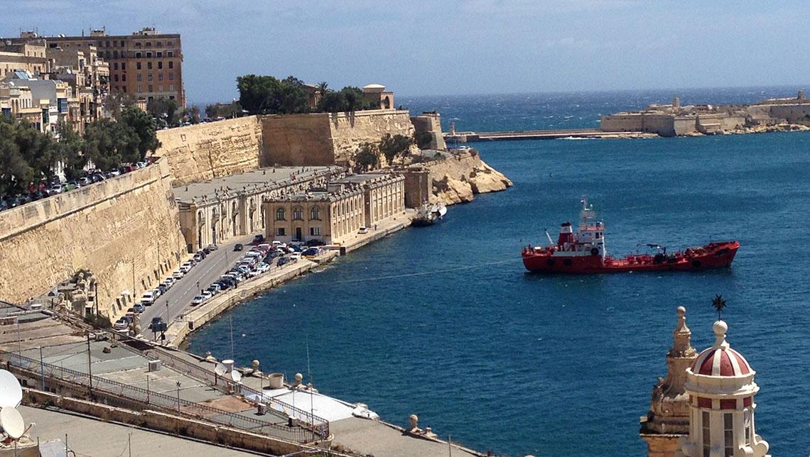 Visite de La Valette, Malte