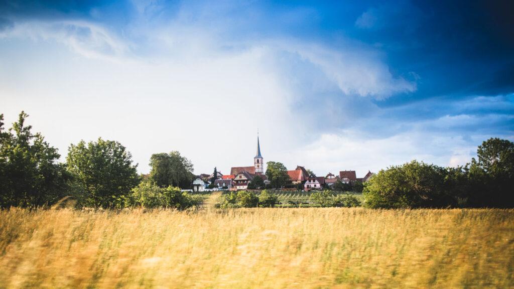 Prairie en Alsace