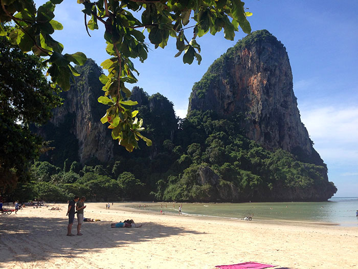 Railey Beach, Thaïlande
