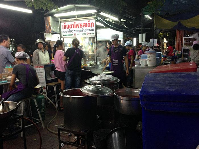 Street-food, Thaïlande