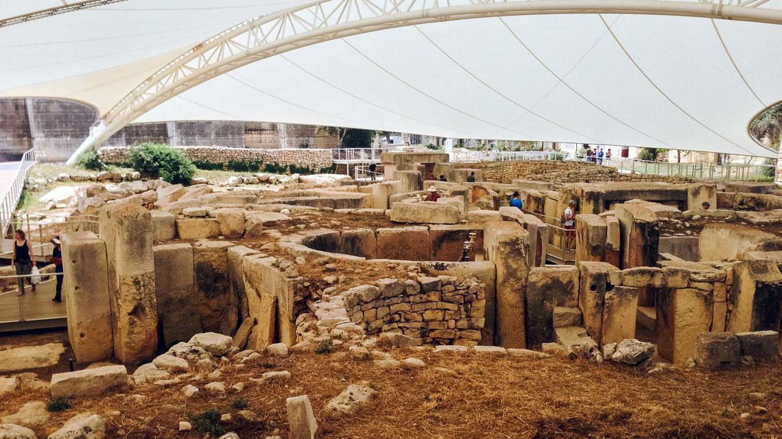 Temple Tarxien Malte