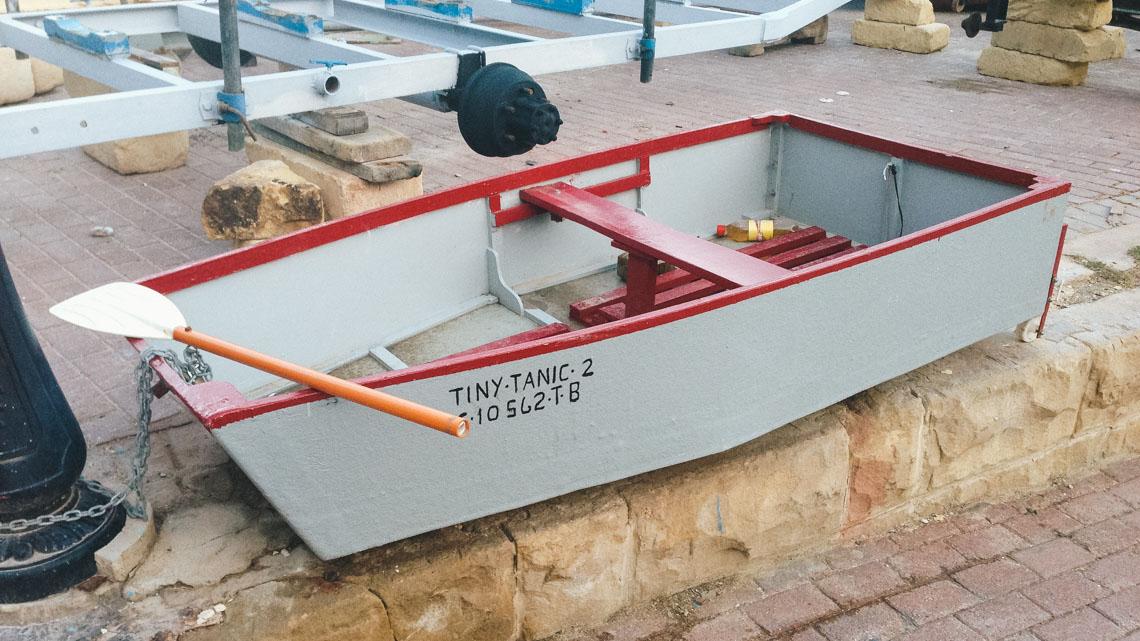 Petit bateau, Malte