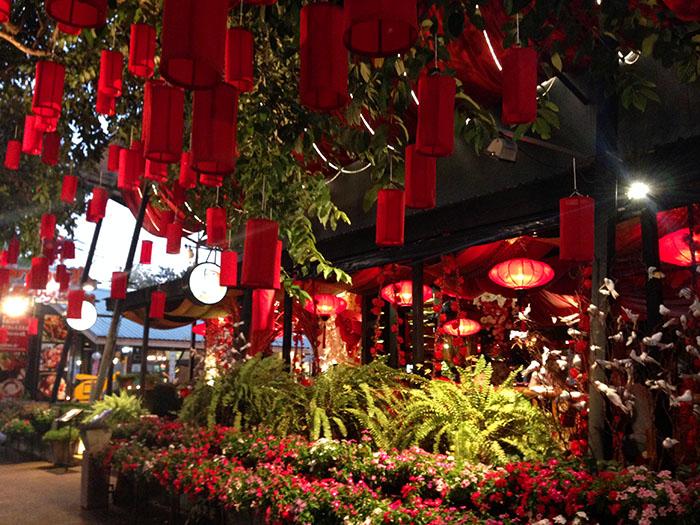 Lampions, Chiang Mai