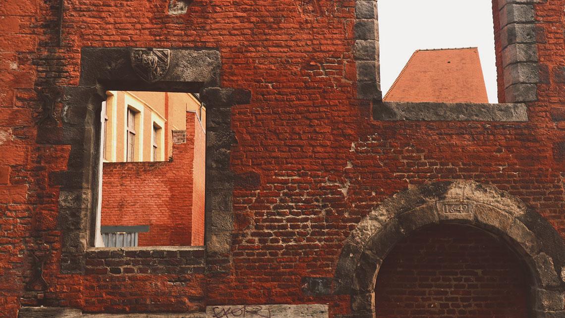 Les briques typiques de la région lilloise