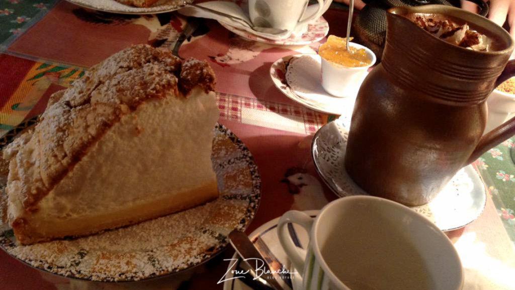Tarte au citron meringuée à Cake Thé, Bourges
