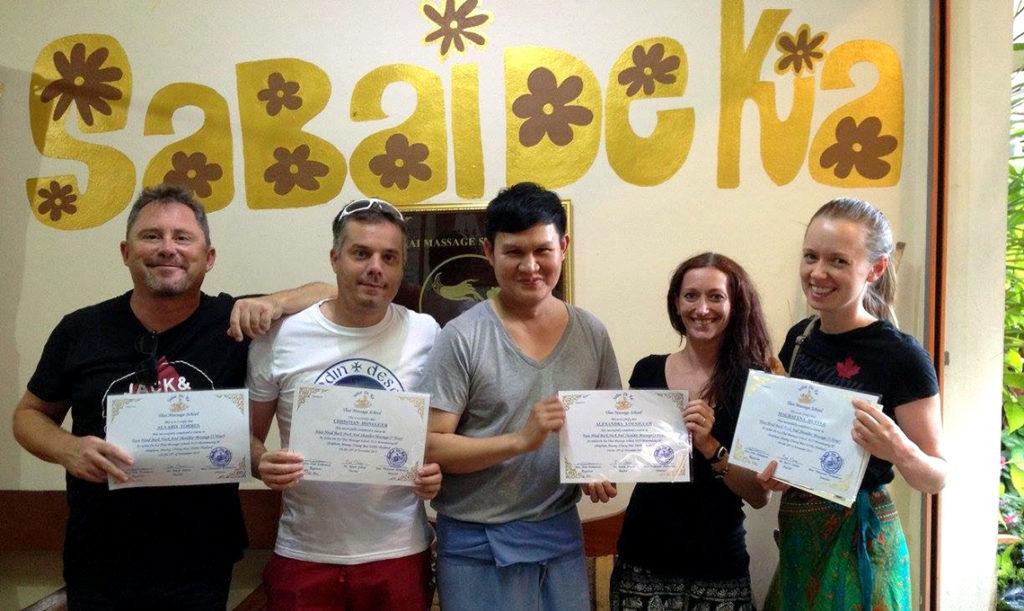 Diplôme de massage à Chiang Mai