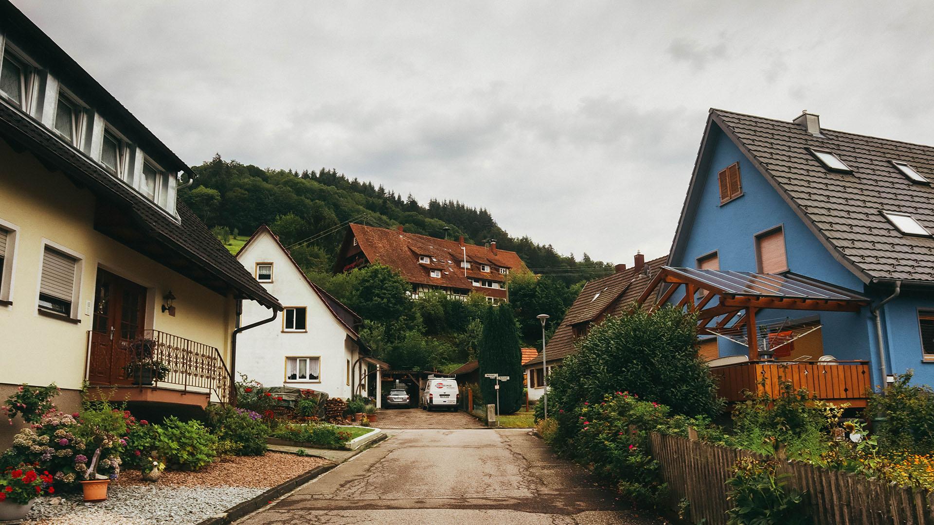 Rue en Allemagne, Forêt Noire