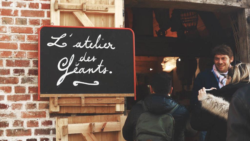 Direction l'Atelier des Géants !
