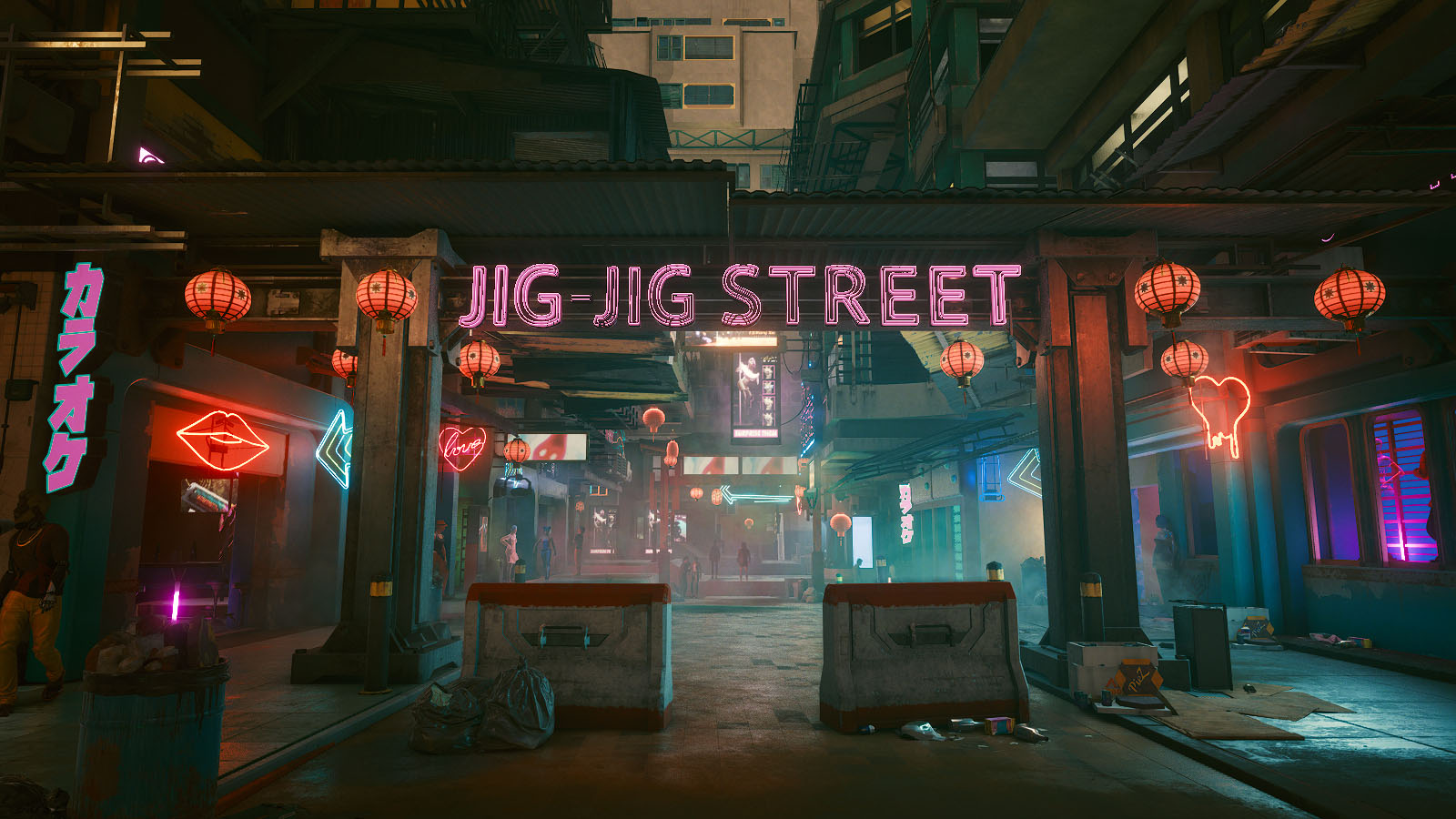 Entrée de Jig-Jig Street