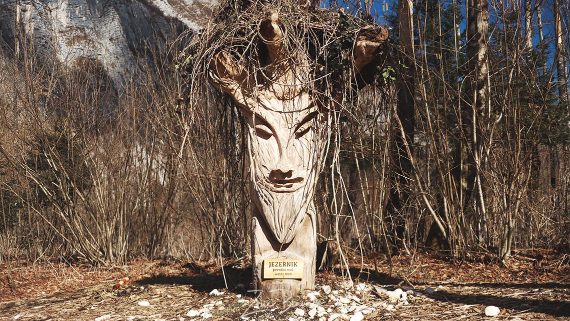 Jezernik, figure mythique de Bohinj