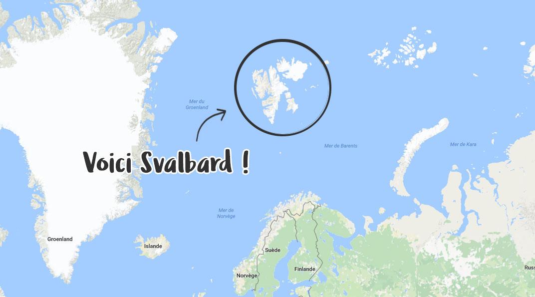 Localisation de Svalbard