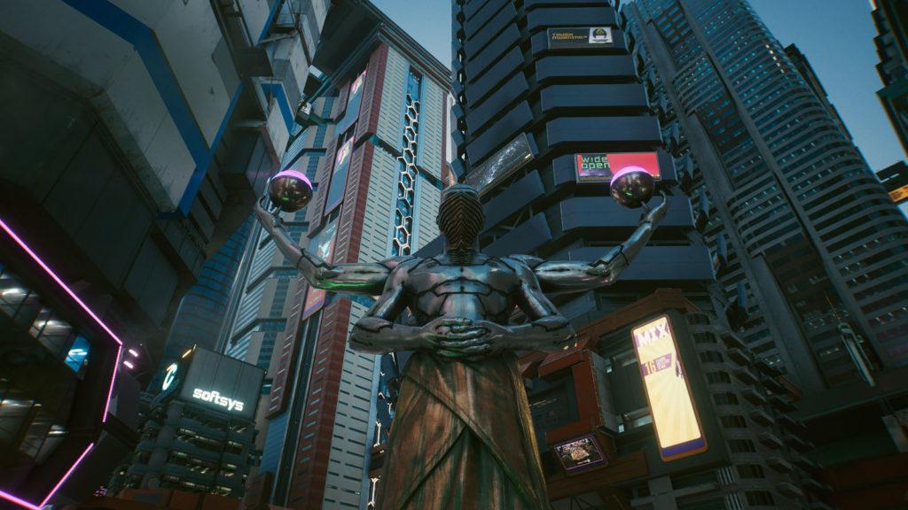 Statue asiatique de Japan Town
