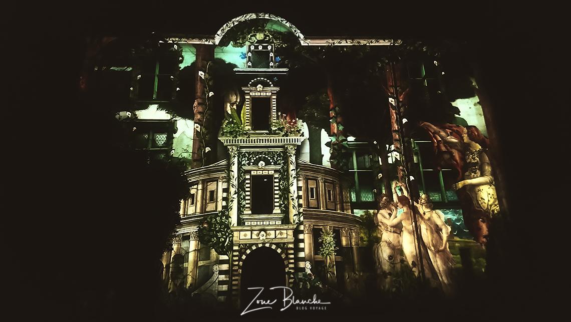 Hôtel Lallemant pendant les Nuits lumières de Bourges