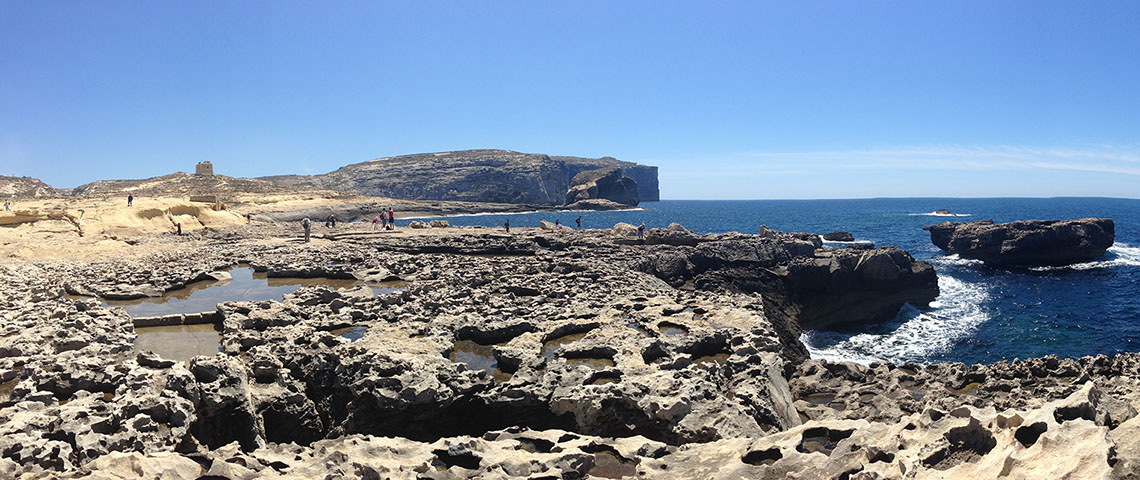 Panorama de l'Azure Window