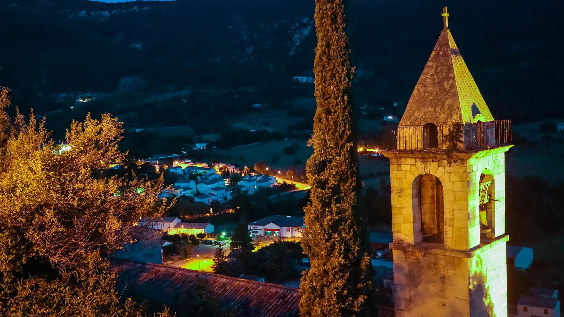 Montbrun-les-Bains en Baronnies provençales