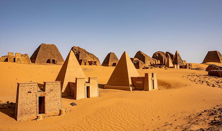 Pyramides de Méroé, Soudan