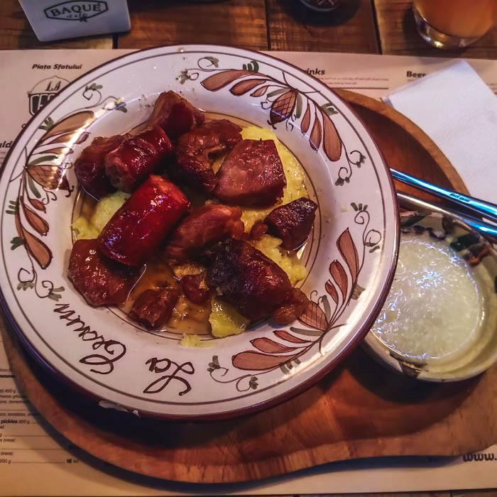Cuisine en Roumanie
