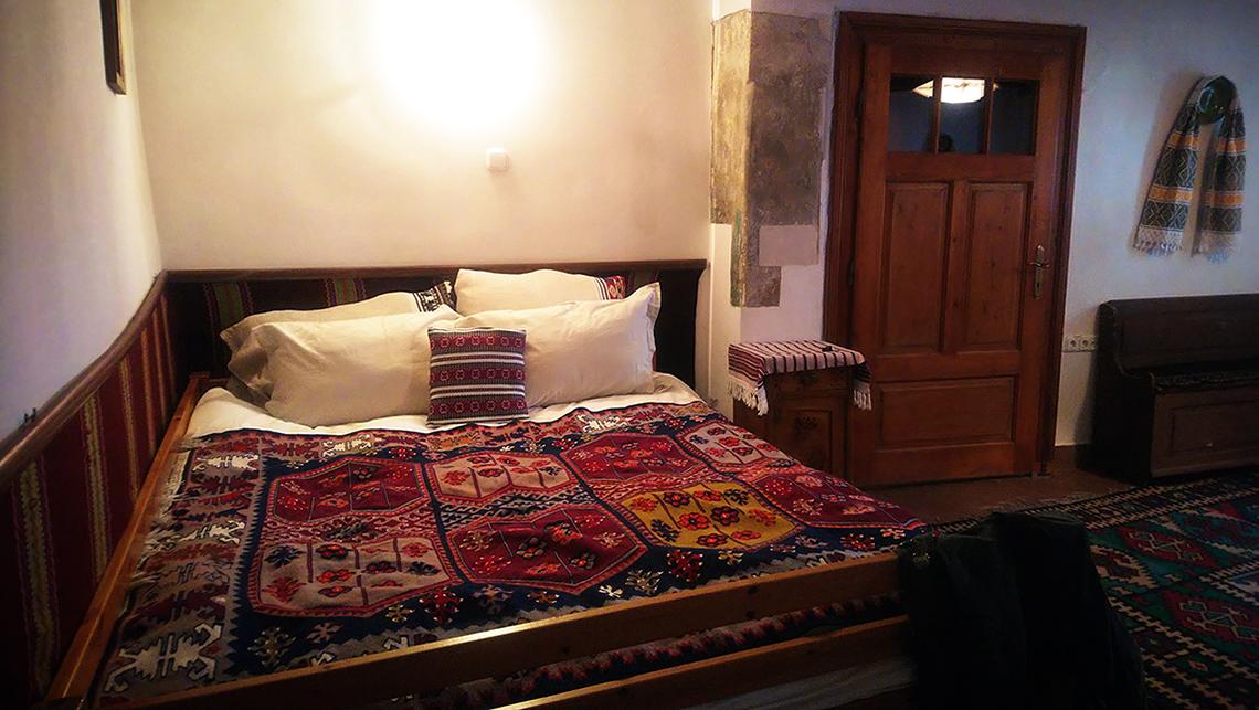 Sibiu, hébergement typique de Roumanie