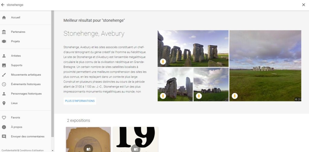 stonehenge google art and culture