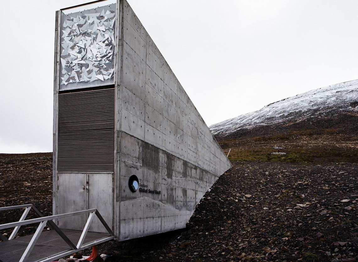L'entrepôt de semences de Svalbard