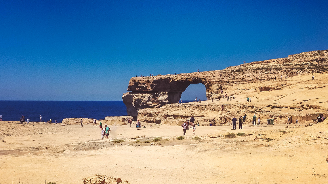 Azure Window, Malte